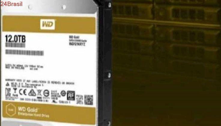 Empresa lança disco rígido com capacidade de armazenamento de 12 TB
