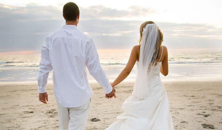 Romantische Strandhochzeit in Italien