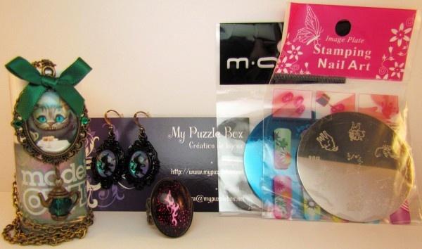 [Concours] Ouverture de ma boutique en ligne : bijou et vernis à gagner ! - My Puzzle Box