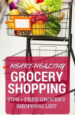 Following a heart-healthy diet plan? Make it easy to spot heart-healthy foods in the grocery store or when dining out by following some simple steps. Be sure to download the free heart-healthy grocery shopping list for your next grocery store outing! @MomNutrition