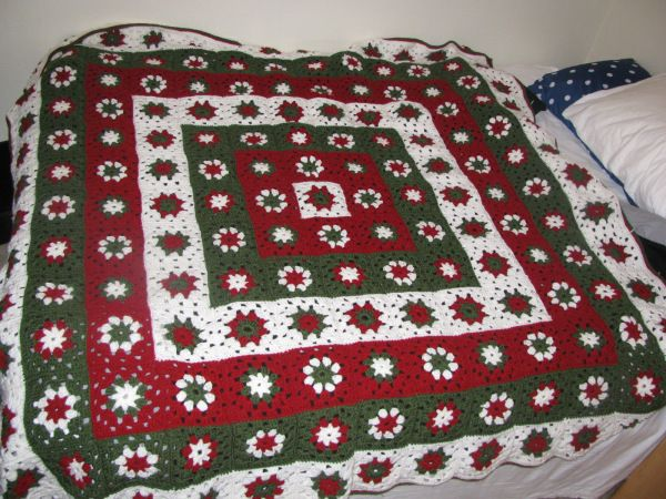 I wanted to make a Christmasafghan soooo badly!! I looked at tutorialsuntil I caught on how to crochet a Granny Square. They are addictive when you realize how endless your possibilities are when…