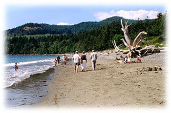 French Beach Provincial Park Vancouver Island British Columbia