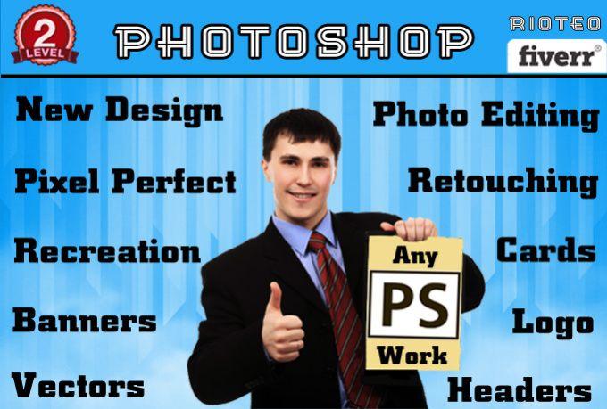 do Professional Photoshop Works by rioteo