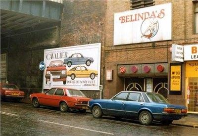 Leeds circa 1982 - Ford Granada Ghia, Vauxhall Cavalier Mk1 GLS, Honda Accord. Plus an advert for the new Cavalier Mk2!