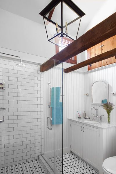 17 best images about 1930 39 s bathroom remodel ideas on for Master bathroom vaulted ceiling