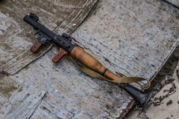 RPG-7 anti-tank rocket-propelled grenade launcher. #Azov #weapon #RPG-7 #RPG