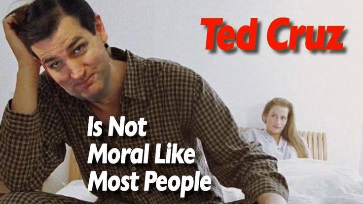 Ted Cruz, Sex, Lies and Creepy