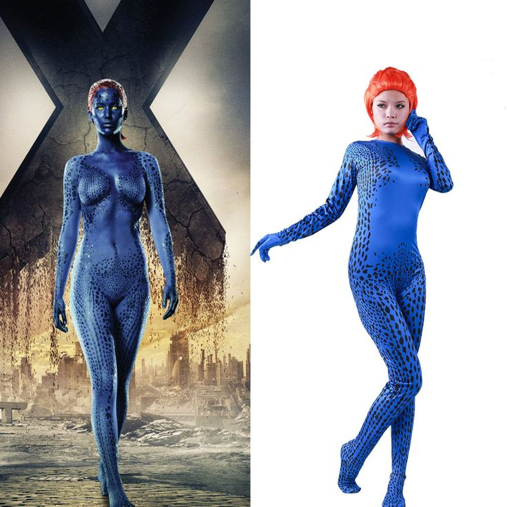 Mystique Costume Jumpsuit Bodysuit X-Men  Apocalypse Movie For Cosplay XCOSER | Clothing, Shoes & Accessories, Costumes, Reenactment, Theater, Costumes | eBay!