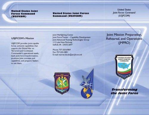 30 Contoh Desain Brosur Lipat Tiga | 29_Joint-Forces-Trifold-Brochure-500x386