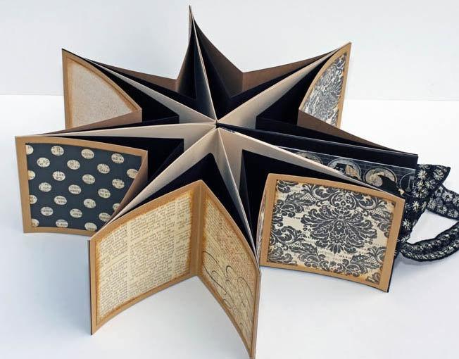 Scrapbook Mini Album - Neutrals Collection