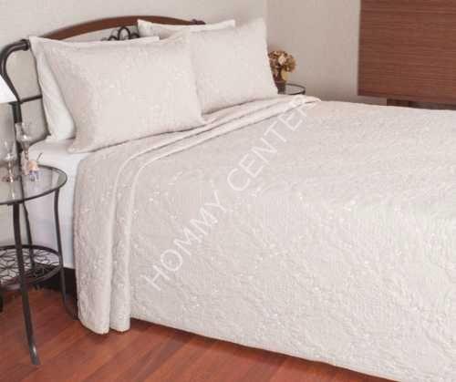 Begonville Lianna Bej Yatak Örtüsü Çift Kişilik | Begonville | Yatak Setleri
