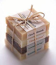 Organic Soap Sampler / woodspriteorganicbody.com