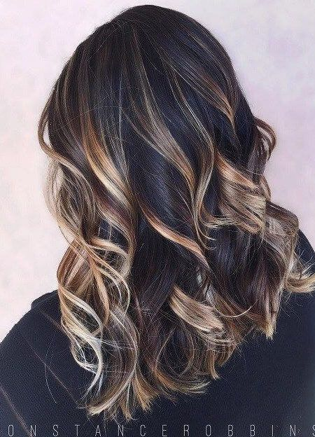 The 25 best dark hair with highlights ideas on pinterest dark the 25 best dark hair with highlights ideas on pinterest dark hair highlights brunette with caramel highlights and dark hair caramel highlights urmus Image collections
