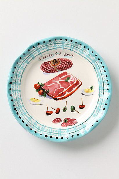 Charcuterie Plate- Love all of these plates from Anthropologie