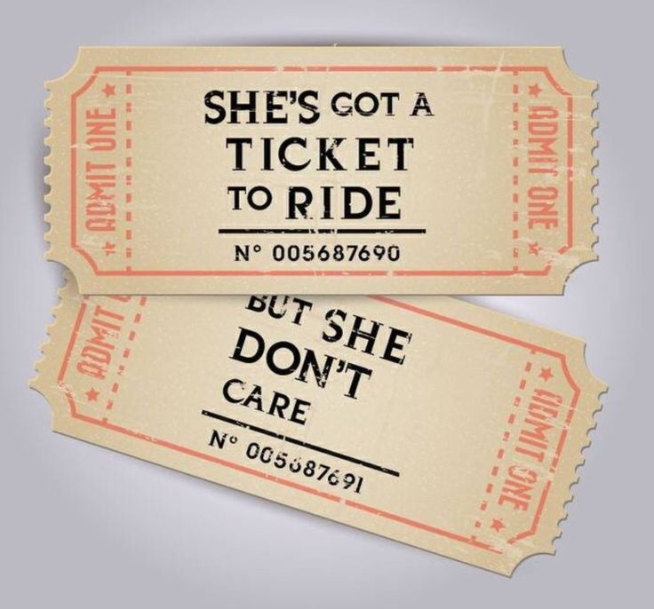 She's Got a Ticket to Ride