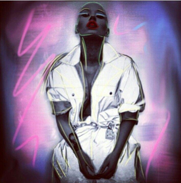 Iggy Azelea done by Nick Knight