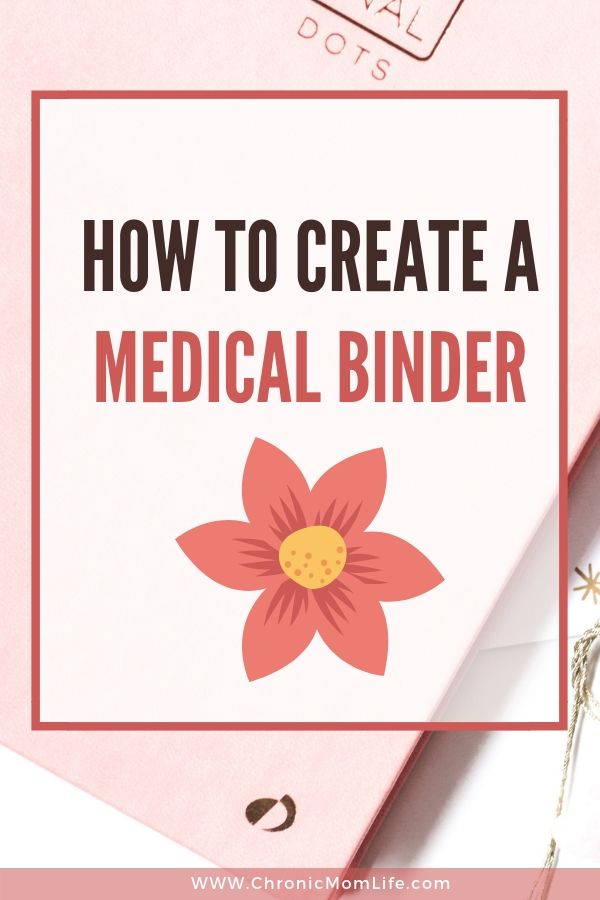 How to Create a Medical Binder 1