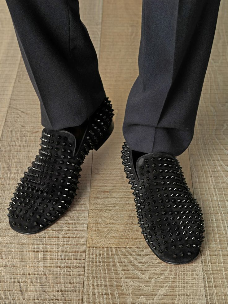 louboutin loafers