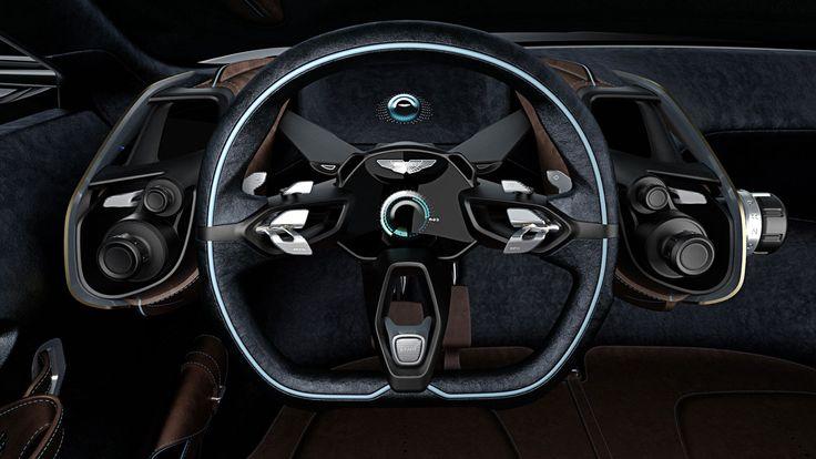Aston Martin DBX Concept Interior - Steering Wheel