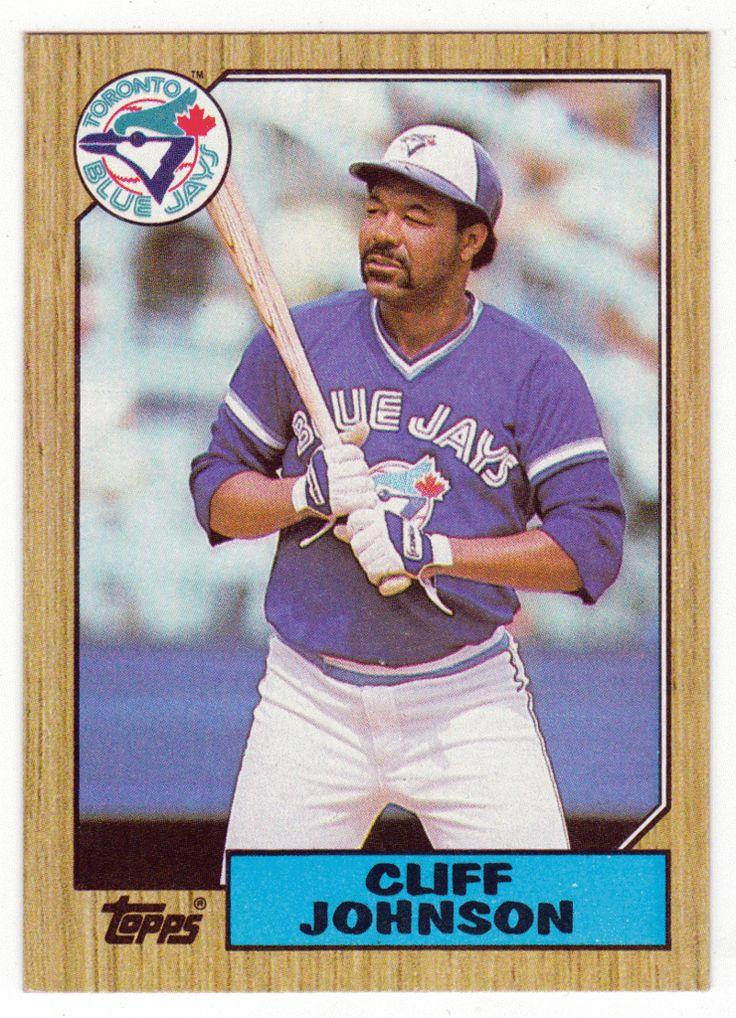 Cliff Johnson # 663 - 1987 Topps Baseball