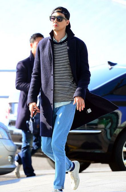 jo in sung - airport fashion / street chic
