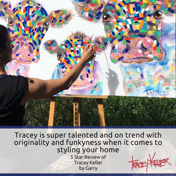 Garry, thank you so much for your kind words - creating space to feel joy is what brings me joy!  #traceykeller #artist #animalart