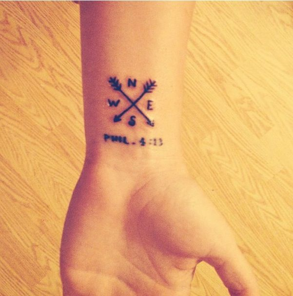 Philippians 4 13 Christ Is My Compass And With Him All Things Are