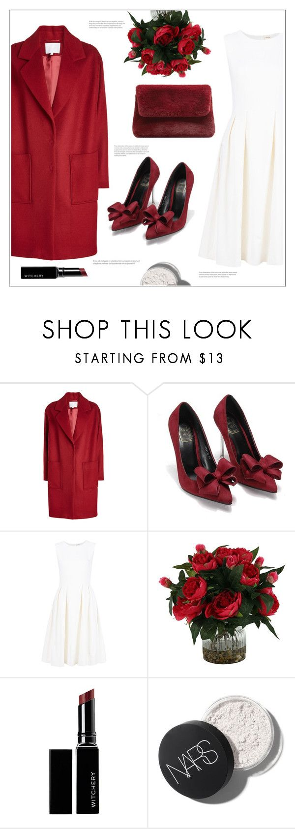 """Girls' night out"" by arwitaa on Polyvore featuring Lala Berlin, ADAM, Witchery and MANGO"