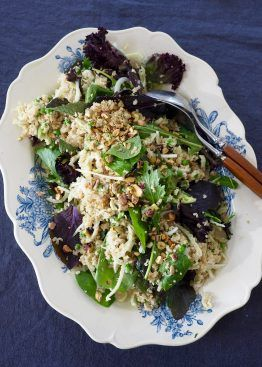 Quinoasalat med fennikel