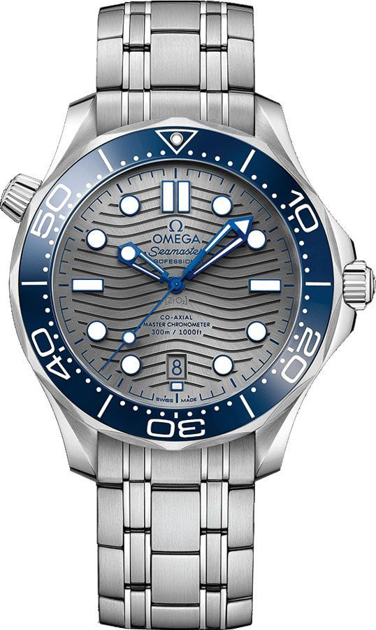 21030422006001 Omega Seamaster Diver Grey Dial Men s Watch - Lowest Price  Online - Brand New - Authenticity Guaranteed - Free Overnight Shipping dc5e7a1730