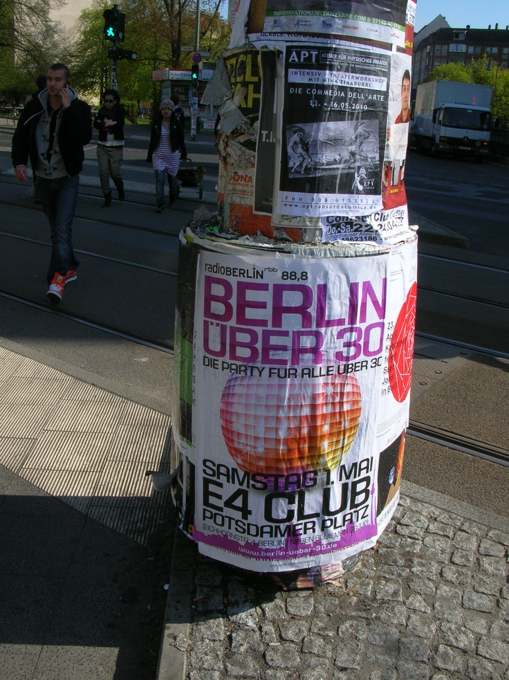 Berlin 'Street-Art' and Berlin Street Posters are not Graffiti !Poster Art in Berlin Mitte / Prenzlauer Berg [Part 1 ] OTA-Berlin Constituency Blog « OTA-Berlin Constituency Blog
