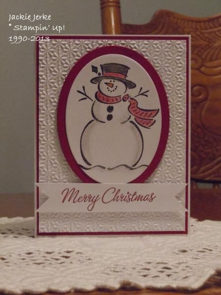 JJ's Christmas 2013 by JJ Rubberduck - Cards and Paper Crafts at Splitcoaststampers