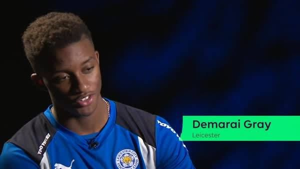 Leicester City Football Club winger Demarai Gray's favourite Premier League No 7?  He reveals all on Day 7 of our Advent Calendar…