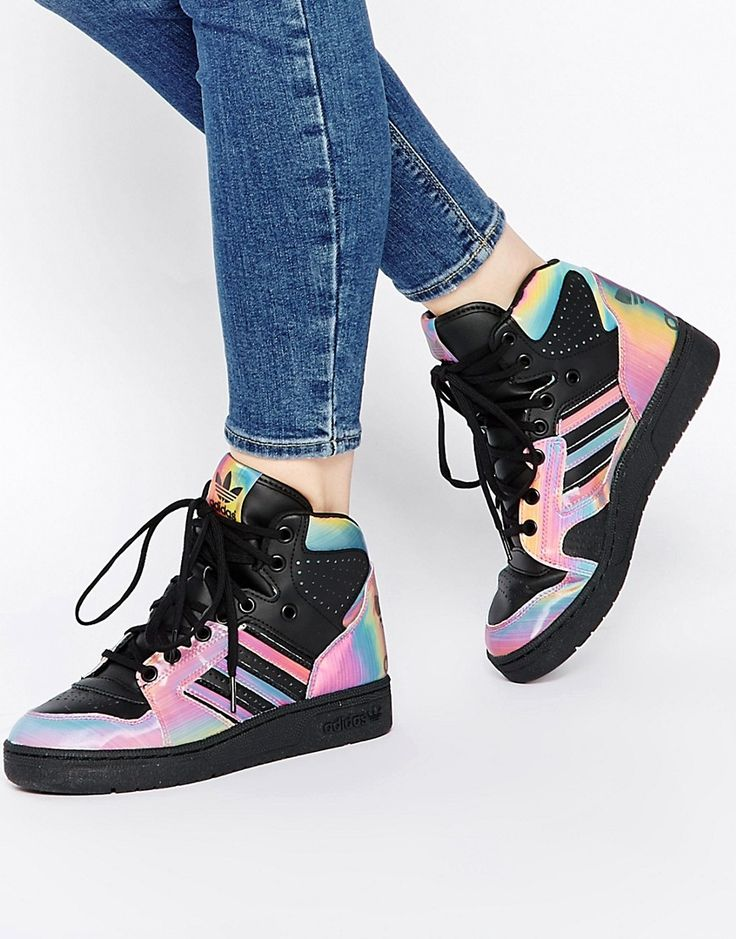 adidas 'Extaball' High Top Sneaker (Women) | Sneaky Kicks | Pinterest | Sneakers  women, High top sneakers and High tops