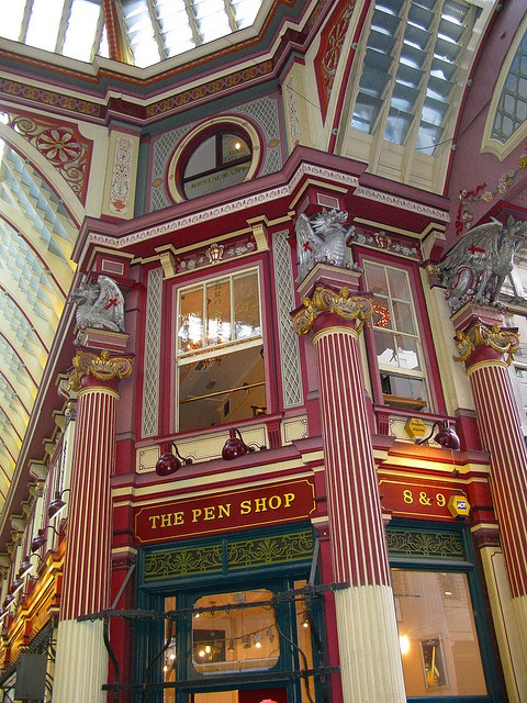 The Pen Shop, Leadenhall Market in Monument, London, England, UKby Duncan Dargie