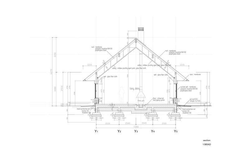 Même – Experimental House,Section
