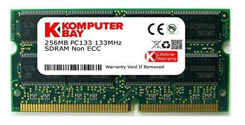 Komputerbay KB_256MB_PC133_SDRAM_SODIMM_16X16 - Memoria RAM para portátil 16Mx16x16 (configuración de 8 chips) 256 MB, 133 Mhz PC133, SDRAM SODIMM (144 pines) #Komputerbay #KB_MB_PC_SDRAM_SODIMM_X #Memoria #para #portátil #(configuración #chips) #SDRAM #SODIMM #pines)