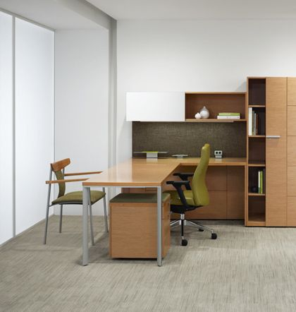 Silea Wood Office Furniture Casegoods Gunlocke