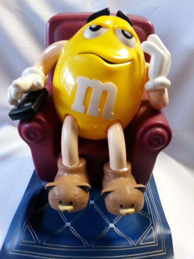 Mu0026M Candy Dispenser Yellow Lazy Boy Chair 1999 Original