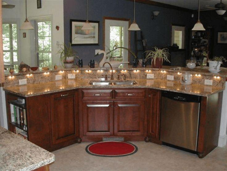 Best 25 sink in island ideas on pinterest farm house - Kitchen island ideas with sink ...