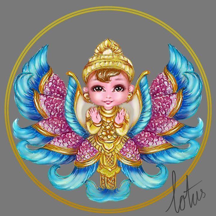 #Digital, #Painting , #Art , #2D, #Sun Shine, #barbie, #Cute, #Myanmar