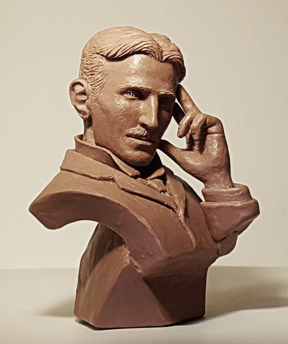 This is a PREVIEW of an item I am currently working on. The image shown is of the (early work in progress) 5 mini (1/4 scale) bust mock-up for a larger