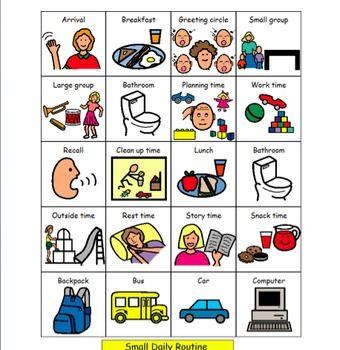 101 beste afbeeldingen over Autism/picture boards op Pinterest ...