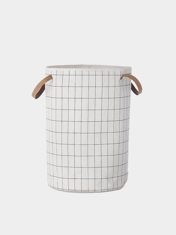 Grid Laundry Basket 1