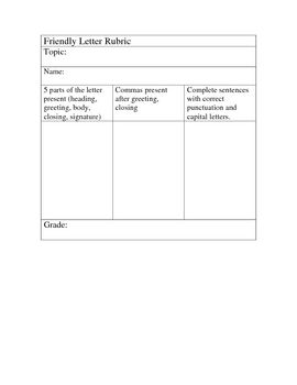 friendly letter format for 2nd grade anamisat writing friendly letters a collection of ideas to try 464