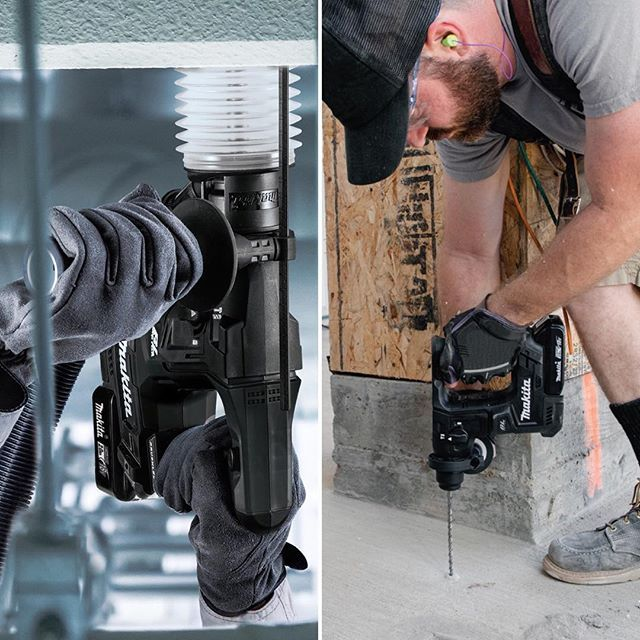 This 18V LXT brushless sub-compact SDS-PLUS rotary hammer packs a powerful punch in a lightweight and ergonomic design. The DHR171 is perfect for overhead applications and in areas where space is limited, giving you fast and fatigue-free holes in concrete and masonry.  #MakitaCanada #MakitaSolutions #DHR171 #MakitaCordless #SubCompact #SDSPLUS #Brushless #Masonry #Concrete