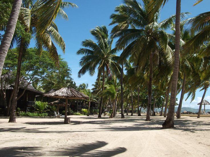 #Travel:  A beach at #Sonaisali Island Resort, #Fiji. The first European to discover the Fijian islands was Dutch Explorer, Abel Tasman, in 1643.   Photo Credit: Dawne Rudman