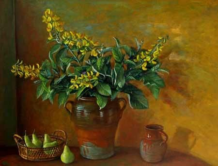 Margaret Olley, Green and gold, c. 1970