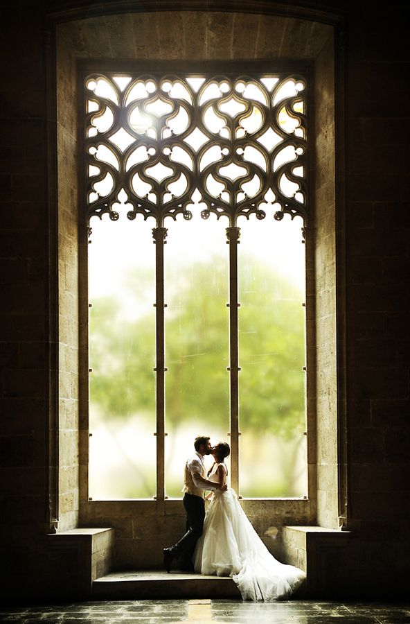 """Love in window"" by Manuel Orero, via 500px."