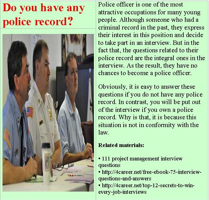 related materials 80 police interview questions ebook interviewquestionsebookscomdownload